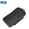 JJC MC-CF6 Waterproof Sealed Memory Card Case Holder for 6pcs CF Memory Card